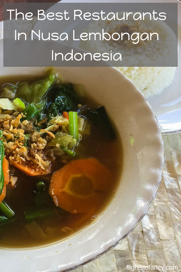 Looking for the best Nusa Lembongan restaurants? This guide is for you! Check out my 7 favourite restaurants in Lembongan. You will find one to please!